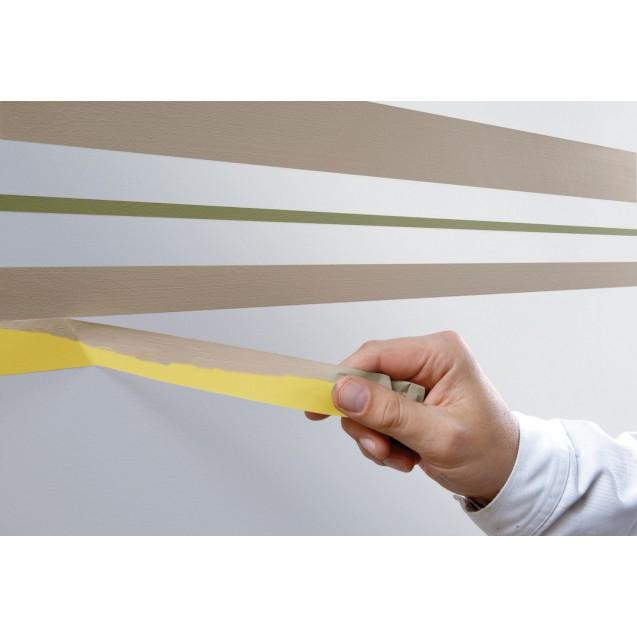 Малярная лента чёткий край 5 месяцев, жёлтая 50 м * 30 мм (6 мес) TESA