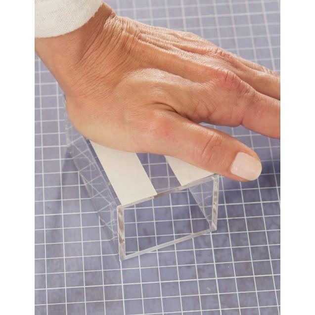 Монтажная двусторонняя лента для прозрачных поверхностей 1,5 м * 19 мм TESA