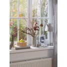 Резиновый уплотнитель E-образный для герметизации окон и дверей, белый  6 м TESA