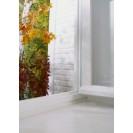 Резиновый уплотнитель Р-образный для герметизации окон и дверей, коричневый 6 м TESA