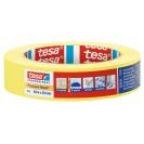 Малярная лента чёткий край 6 месяцев, жёлтая 50 м * 25 мм (6 мес) TESA