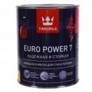 Краска интерьерная стойкая к мытью Tikkurila Euro Power 7 С матовая 0.9 л