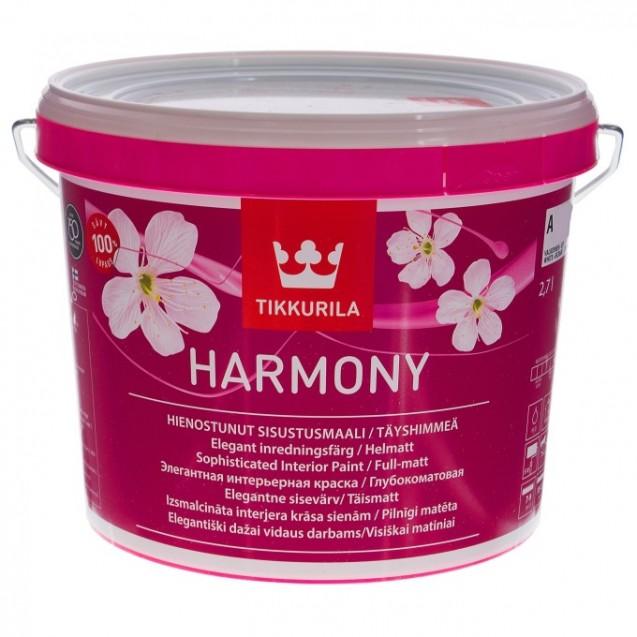 Краска интерьерная Tikkurila Harmony А глубоко-матовая 2.7 л