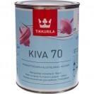 Лак акрилатный Tikkurila Kiva 70 EP глянцевый 0.9 л