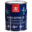 Краска для влажных помещений Tikkurila Euro Extra 20 А полуматовая 0.9 л