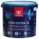 Краска для влажных помещений Tikkurila Euro Extra 20 А полуматовая 2.7 л