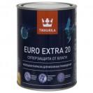 Краска для влажных помещений Tikkurila Euro Extra 20 С полуматовая 0.9 л