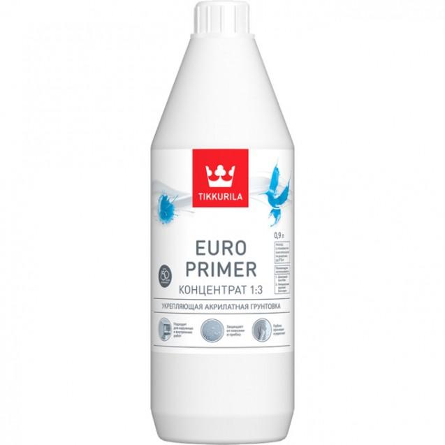 Грунтовка Tikkurila EURO PRIMER концентрат 1:3 0.9 л