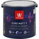 Краска Tikkurila Euro Matt 3 А глубоко-матовая 2.7 л