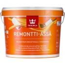 Краска стойкая к мытью Tikkurila Remontti-Assa C полуматовая 9 л