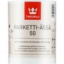 Лак для пола Tikkurila Parketti-Assa полуглянцевый 1 л