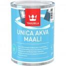Краска для окон и дверей Tikkurila Unica Akva Maali C полуглянцевая 0.9 л