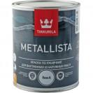 Краска по ржавчине Tikkurila Metallista A глянцевая 0.9 л